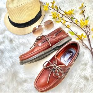 ✨PM EDITORS CA-pick🤎SPERRYS top-smoky leather